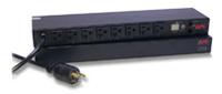 (Click to Enlarge) SCHNEIDER ELECTRIC IT USA INC [ap7901] - >> RACK PDU - SWITCHED 1U 20A 120V (8) 5-20 (ITEM ALSO KNOWN AS : APC-AP7901) [ap7901]