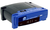 (Click to Enlarge) Linksys EPSX3 - EtherFast 3-Port 10/100 PrintServer - Retail