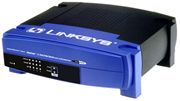 (Click to Enlarge) Linksys EFSP42 EtherFast 4-Port Switched and 2-Port Print Server - Retail