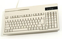 (Click to Enlarge) UNITECH [k2714] - UNITECH - KEYBOARD - K2714 - AT/PS2 - 101 KEYS - BEIGE [k2714]