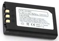 (Click to Enlarge) UNITECH AMERICA [1400-201002] - >> PA950 Lithium 7.4V 720/Mah rec RECHARGEABLE BATTERY [1400-201002]