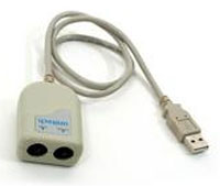 (Click to Enlarge) UNITECH [pw201-3g] - UNITECH - USB ADAPTER CABLE - PS2 - KEYBOARD WEDGE TO USB [pw201-3g]