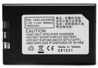 (Click to Enlarge) UNITECH [1400-202450g] - UNITECH - BATTERY - BATTERY LI ION 7.4 V 1850 MAH - 13.69 WATTS - PA96X REPLACEMENT OR EXTRA ACCESSORY [1400-202450g]