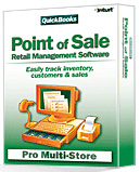 (Click to Enlarge) Quickbooks Point Of Sale v7.0 Pro Multi-Store POS Software