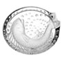 Lalique Crystal Ashtrays