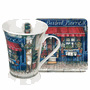 Pimpernel Mugs with Coasters