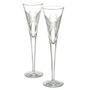 Waterford Toasting Flutes Stemware