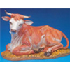 "Fontanini 18"" Seated Ox Figurine"