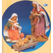 "Fontanini 18"" Baby Jesus with Manger 2 Piece Set"
