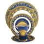 Versace By Rosenthal Medusa Blue Collection