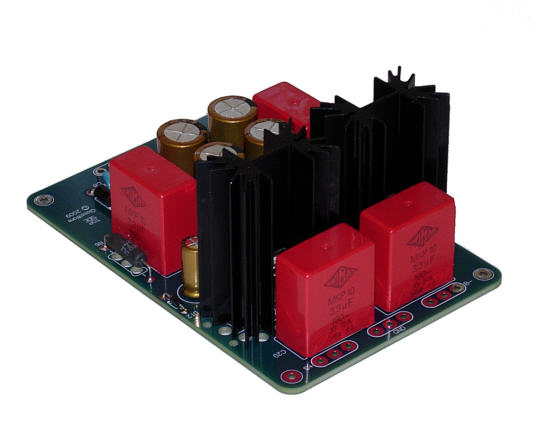 Bipolar low-voltage power supply
