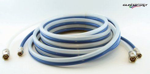 Polyurethane Twin Hose, 25ft, Air and Fluid
