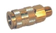 Quick Connect Coupling Male, Brass (Universal)