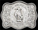 Retro Bucking Bronco Buckle