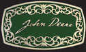 John Deere Fancy Belt Buckle