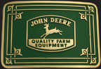 John Deere Quality Belt Buckle