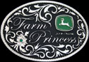 Farm Pincess Belt Buckle