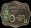 John Deere Model B Belt Buckle