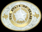 Texas State Belt Buckle
