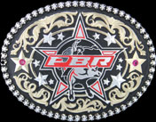 Fancy PBR Belt Buckle