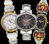Ladies Toggle, Cuff & Bangle Watches