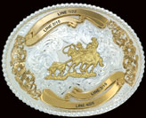 Montana Silversmiths Trophy Belt Buckle 2106