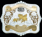 Trophy Belt Buckle 16413 by Montana Silversmiths