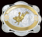 Trophy Belt Buckle 20402 by Montana Silversmiths
