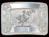 Trophy Belt Buckle 7102 by Montana Silversmiths