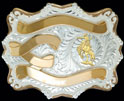 Trophy Belt Buckle 21314 by Montana Silversmiths