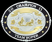 Trophy Award Buckle 17201 by Montana Silversmiths