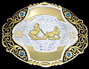 Trophy Buckle 60763 by Montana Silversmiths