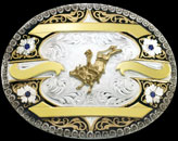 Custom Buckle 2144 / 61323 by Montana Silversmiths