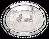 Silver Trophy Buckle by Montana Silversmiths