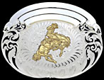 Trophy Belt Buckle 60738 by Montana Silversmiths