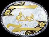 Trophy Buckle 2143 & 61340 by Montana Silversmiths