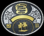 Trophy Buckle 60849 by Montana Silversmiths