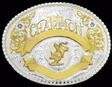 Champion Trophy Buckle by Montana Silversmiths