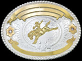 Montana Silversmiths Trophy Buckle 2174