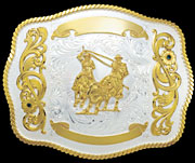 Large Trophy Buckle 1503  |  Montana Silversmiths
