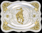 Event Buckle 61482 by Montana Silversmiths