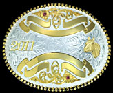 Montana Silversmiths Trophy Buckle 2116BE