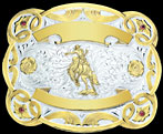 Trophy Buckle 7903R from Montana Silversmiths