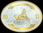 Montana Silversmiths Trophy Buckle - 952