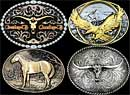 Economy Belt Buckles by Montana Silversmiths