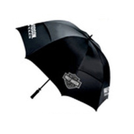 Harley Davidson Silver/Black Umbrella