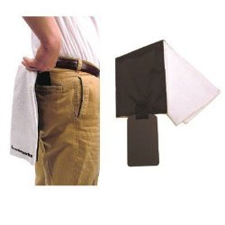 Hipster Hip Pocket Golf Towel