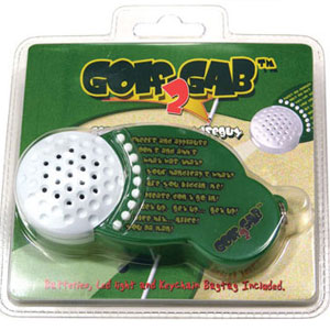 Golf Gab - Wisecracking Golf Gag Gift