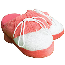 Womens Pink Golf Slippers