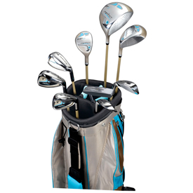 Nicklaus Golden Bear Instinct 12pc Women's Golf Set
